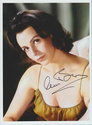 CLAIRE BLOOM in person signed glossy PHOTO 20x27 cm AUTOGRAPH 8/11 inch