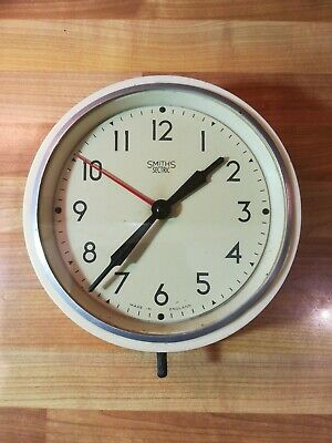 Vintage Smiths Sectric Wall Clock 8""