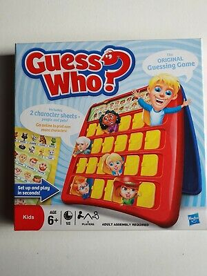 Guess Who By Hasbro Game 2009 - Excellent Unused Condition - Age 6+ - Original