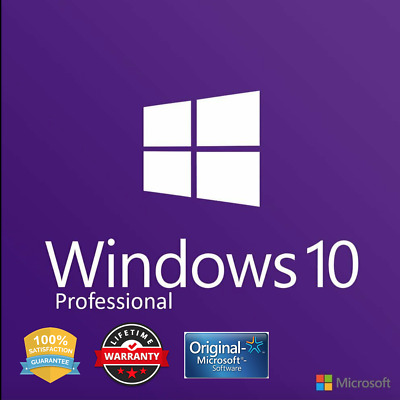 WINDOWS 10 PRO INSTANT DELIVERY 3s ACTIVATION LICENSE KEY SUPPORT 24/7