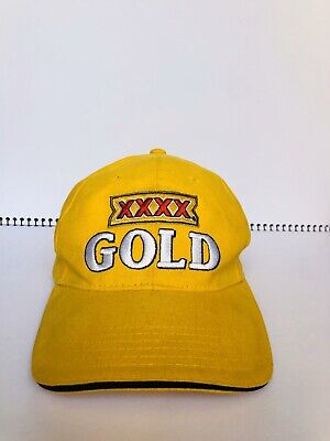 XXXX Gold Baseball Cap Hat adjustable strap Good as Gold Collectable Beer