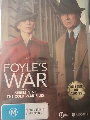 FOYLE'S WAR - Series 9 3 x DVD Set Exc Cond! Complete Ninth Season Nine Foyles