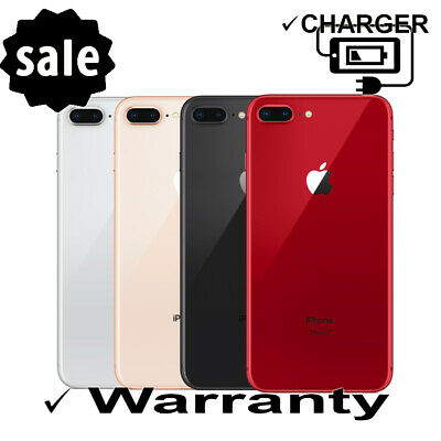 " Factory Unlocked  GSM + CDMA iPhone 8 Plus 5.5"" 64GB T-Mobile AT&T Sprint VZW"