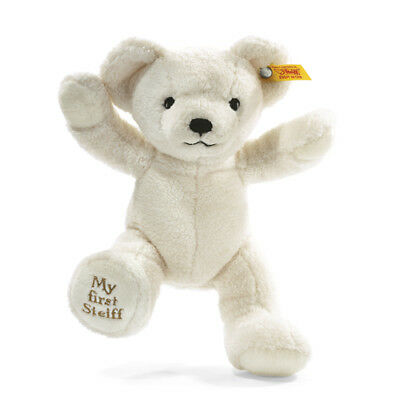 STEIFF My first steiff Teddy bear EAN 664021 24cm Cream baby gift New