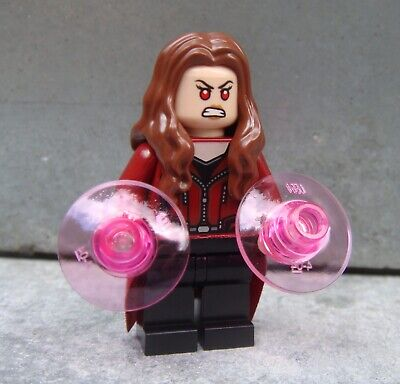 LEGO Super Heroes SCARLET WITCH minifigure ONLY from Avengers 76051 set