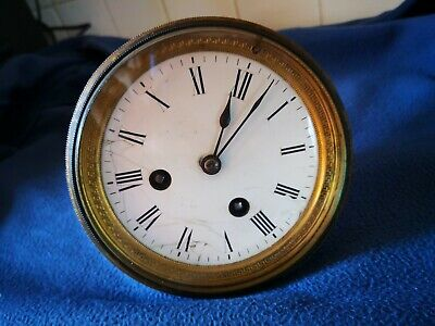 French Mantle Clock Movement