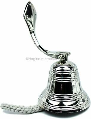 Nautical Boat Decorative Bells Nickel Plated Antique Brass Pirates ship NGN183