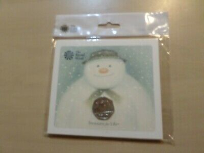 2018 Royal Mint Snowman 50p in unopened Original Packaging BU / BUNC