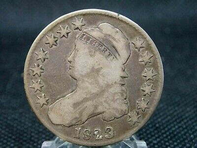 1823 Capped Bust Half Dollar 50c #1  East Coast Coin & Collectables, Inc.