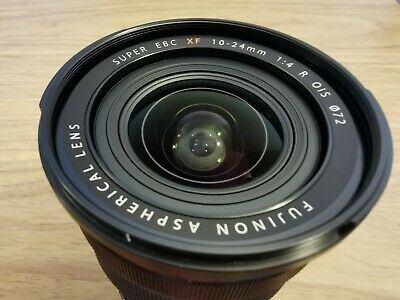 Fujifilm Fujinon XF 10-24mm f/4 OIS Wide Angle Zoom Lens IMMACULATE CONDITION!!