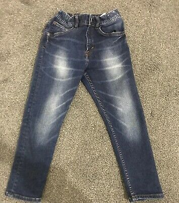 Boys H&M Jeans Navy Blue Age Uk 5-6years