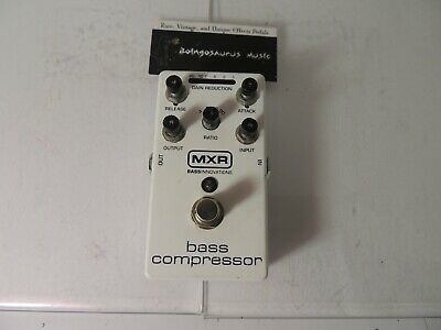 MXR M87 Bass Compressor Effects Pedal Dunlop Free USA Shipping