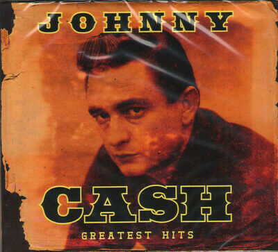 JOHNNY CASH - GREATEST HITS COLLECTION 2CD -brand new & sealed