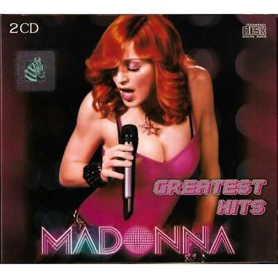 MADONNA - Greatest Hits Collection Music 2CD