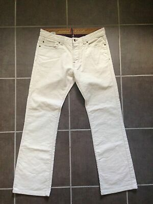 "mens JOULES COTTON CREAM JEANS - SIZE 32""W - 31""L"