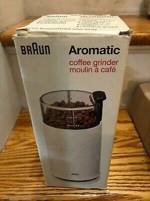 Braun Aromatic KSM-2 Electric Coffee Grinder Nut Spice Mill - EXCELLENT