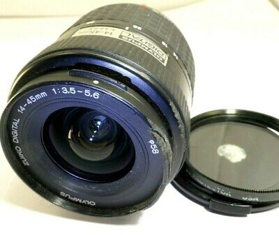 Olympus 14-45mm F3.5-5.6 Lens For Four Thirds 4/3  Zuiko Digital E-530 E-330