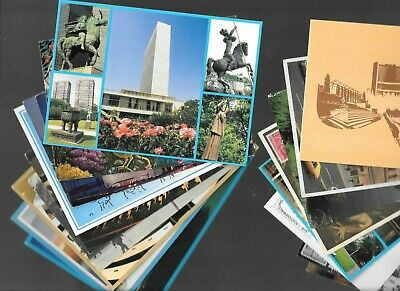 Mixed Collection of Used and Unused Worldwide Postcards