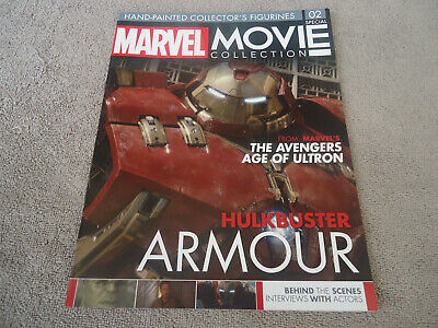 MARVEL MOVIE COLLECTION SPECIAL EDITION #2 HULKBUSTER MAGAZINE ONLY! Eaglemoss