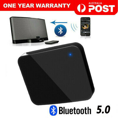 Bluetooth 5.0 Music Audio Adapter Receiver 30 Pin Dock Speaker for iPod iPhone