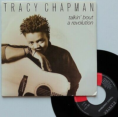 "SP 45T Tracy Chapman ""Talkin' bout a revolution"" - (TB/EX)"