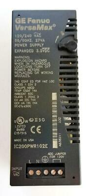 GE Fanuc IC200PWR102E VersaMax Power Supply