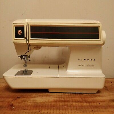 SINGER 2001 FUTURA Touch Elec. Operated Embroidery Sewing Machine.