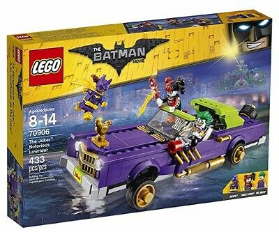 LEGO Batman Movie 70906 The Joker Notorious Lowrider New