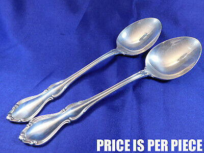 Reed & Barton Hampton Court Sterling Silver Oval Soup Spoon - Very Good Cond