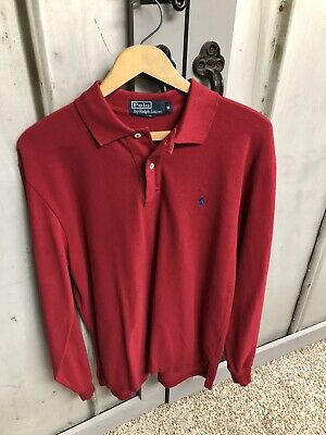 Polo Ralph Lauren Red Shirt Medium