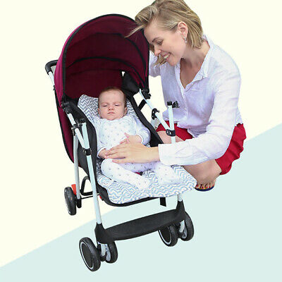 Cute Infant Pushcart Soft Comfort Cushion Sleeping Nappy Pad Stroller Accs
