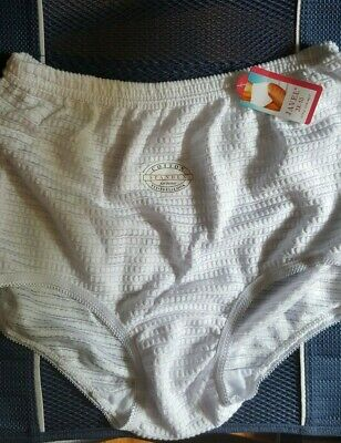 Women Cotton Spandex Underwear Panties Size 10 3XL 17 inches Hips
