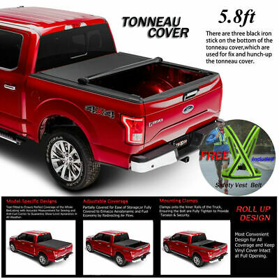 Tyger T3 Tri Fold Tonneau Cover For 2009 2019 Dodge Ram 1500 5 8ft 69 6in Bed Auto Parts And Vehicles Truck Bed Accessories Magenta Cl