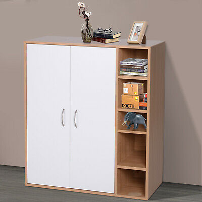 HOMCOM 8 FÄCHER Standregal Dekoschrank Bücherregal Wandregal