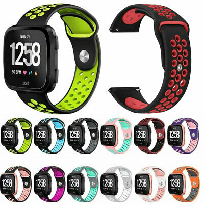 For Fitbit Versa 2 / Lite Edition Strap Sport Silicone Replacement Watch Band