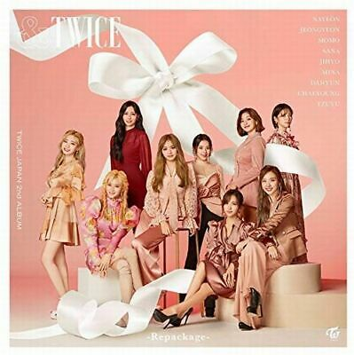 TWICE Japan 2nd Full Album [&TWICE-Repackage-] (CD + DVD) Limited Edition