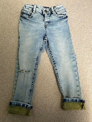 Boys Mayoral Jeans Age 3 Ripped Style