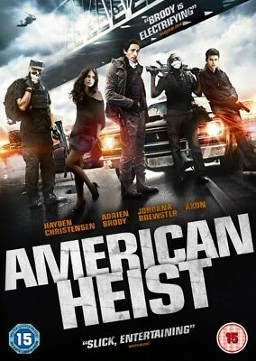 Bulk Buy - New And Sealed Dvds - American Heist - 100 Dvds For £15