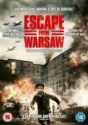 Bulk Buy - New And Sealed Dvds - Escape From Warsaw - 100 Dvds For £15