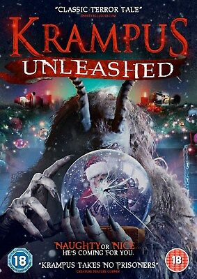 Krampus - Unleashed (DVD) (NEW AND SEALED) (REGION 2)