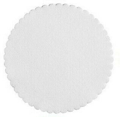 250 Doilies Coasters round White 4 1/2in Airlaid for Hotel