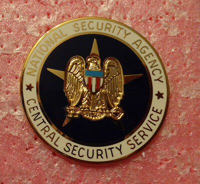 Nsa, Central Security Service,Staff Identification Breast Badge, Full Size