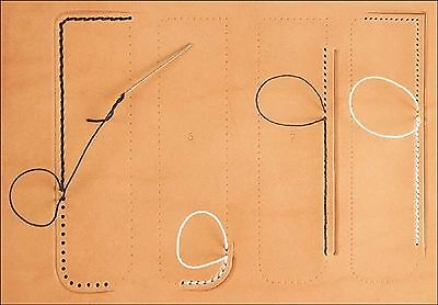 Craftaid Plastic Stitching Guide Template # 76633-00 by Tandy Leather