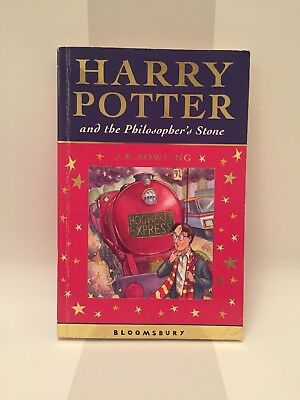 Harry Potter The Philosopher's Stone First Edition 2nd Print PB Bloomsbury 2001