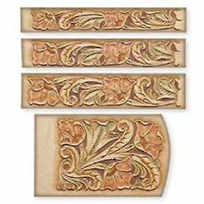 Craftaid Plastic Floral Key Case Template 72511-00 Tandy Leather