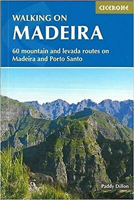 Walking on Madeira: 60 mountain and levada routes on Madei... Paperback Book NEW
