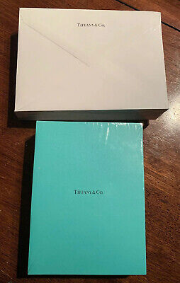 25 Authentic Tiffany & Co. Blank Gift / Stationary Cards & Envelopes, Sealed