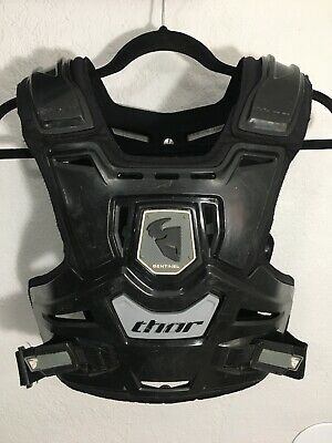THOR MX Sentinel Chest Protector Adult Sx Motocross Dirt Bike Motorcycle Black
