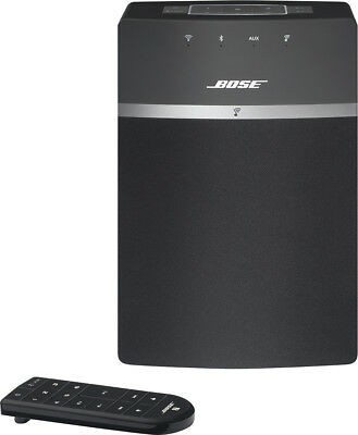 Bose - SoundTouch® 10 Wireless Music System - Black
