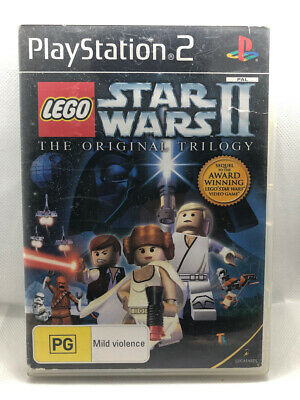Lego Star Wars II: The Original Trilogy for Playstation 2 PS2 + Manual FREE POST